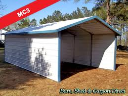 drive thru boxed eave carport 12 x 21 x 6 mc3 barn shed