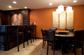 Trendy Dining Room Photo In Chicago