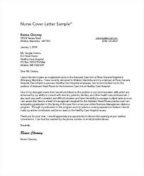 Nurses Cover Letter General Nursing Letters Assistant Examples For Resume