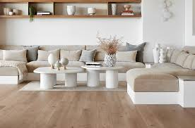 beige and white living room in bohemian buy image