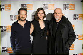 Halloween Town Cast Change by Maggie Gyllenhaal Focus For Change With Peter Sarsgaard Photo