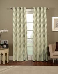 Target Threshold Grommet Curtains by 5 Sources For Affordable Patterned Curtains Apartment Therapy