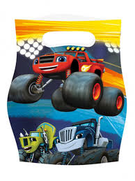 8 Blaze And The Monster Machines Party Favour Bags: Decorations,and ... Monster Truck Party Ideas At Birthday In A Box Truck Party Tylers Monster Cars Cakes Decoration Little 4pcs Blaze Machines 18 Foil Balloon Favor Supply Jam Ultimate Experience Supplies Pack For 8 By Bestwtrucksnet Amazoncom Empty Boxes 4 Toys Blaze Cake Decorations Deliciouscakesinfo Decorations Beautiful And The Favour Bags Decorationsand Cheap Cupcake Toppers Find Sweet Pea Parties