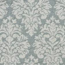 Shabby Chic Blue Wallpaper Washed And White
