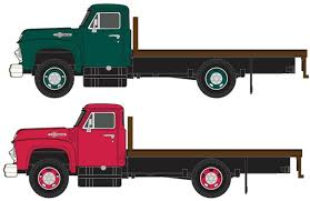 Classic Metal Works N 1954 Flatbed Truck