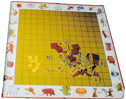 Standard Scrabble Tile Distribution by Scrabble Junior Versions