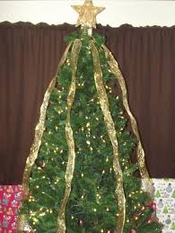 Drape The Ribbons Over Tree Evenly