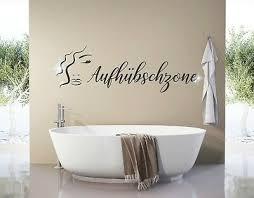 wandtattoo aufhübschzone wandtattoo badezimmer sprüche