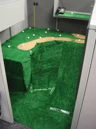 mini golf de bureau amazing office pranks