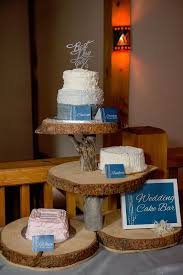 Wedding Cake Bar From A Rustic Chic Mountain On Karas Party Ideas