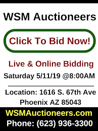 100 Phx Craigslist Cars Trucks Phoenix Auctioneer Auction House Auction Company WSM Auctioneers