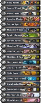 hearthstone priest deck beginner hearthstone basic decks a beginner s guide to the priest
