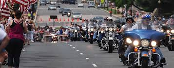 Vienna Halloween Parade Street Closures by Rolling Thunder Ride Of The Patriots Fairfax County Virginia