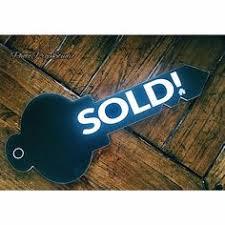Sold Key Cut Realtor Testimonial Photo Prop Sign Make Your