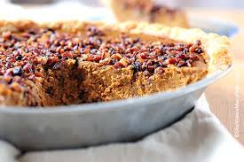 Pumpkin Praline Pie Cooks Illustrated by Pumpkin Pie With Toasted Pecan Praline Topping