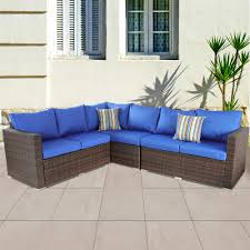 Amazon.com : Leaptime Outside Rattan Sofa Patio Furniture PE Rattan ... Amazoncom Leaptime Patio Fniture Rattan Couch 5piece Deck Sofa Hanover Outdoor Metropolitan Wicker Frame Sunnydaze Decor Port Antonio Gray 4piece Metal Sectional Chaise Lounge Lounges Arrow Up Lyndee Blue White Striped Chair Goodglance And 2 Ding Room Outside Pe Hcom Dark Grey Accent Chairs Comfortable Sunbrella Cushions For Upper Outdoor Pillow Covers Throw Pillows Royal Etsy 5pcs Sofa Set Brown Cushion 7078 Exterior Cozy Wooden Material Lowes Navy Blue Patio Chair Cushion Cushions Navy