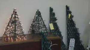 Crab Pot Christmas Trees by Making Christmas Trees Out Of Crab Trap Wcti