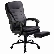 HERCULES Series 500 Lb Capacity Big Tall Black Leather Executive