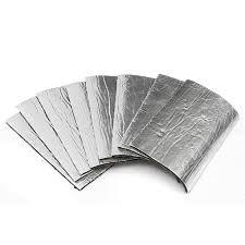 Insulating Carpet by 8pcs 50cm X 30cm Carpet Car Exhaust Heat Shield Insulation Fibre