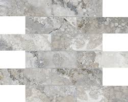 2 x6 argento mosaics montecelio high definition porcelain