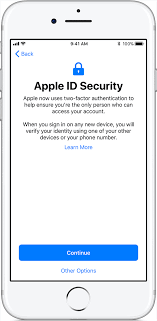 Availability of two factor authentication for Apple ID Apple Support