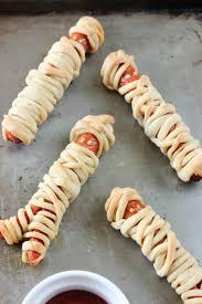 Halloween Hotdog Fingers by Mummy Dogs Amy Sheree