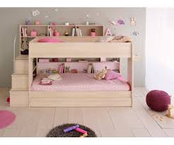 2 Bunk Twin Over Twin Bed with Trundle 2 Mattresses included