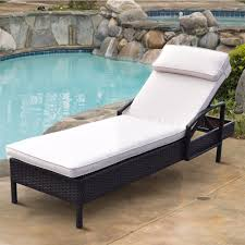 US $145.99 |Giantex Chaise Lounge Chair Brown Outdoor Wicker Rattan Couch  Patio Furniture W/Pillow Outdoor Furniture HW54463-in Sun Loungers From ... Colorful Stackable Patio Fniture Lounge Chair Alinum Costway Foldable Chaise Bed Outdoor Beach Camping Recliner Pool Yard Double Es Cavallet Gandia Blasco Details About Adjustable Pe Wicker Wcushion Hot Item New Design Brown Sun J4285 Luxury Unopi Best Choice Products W Cushion Rustic Red Folding 2pcs Polywood Nautical Mahogany Plastic Awesome Modern Remarkable Master Chairs Costco