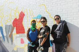 Big Ang Mural Chicago by Huge Mural Tackling Gentrification Coming To Logan Square Blue