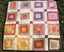 Machine Quilting Designs for Log Cabin Quilts