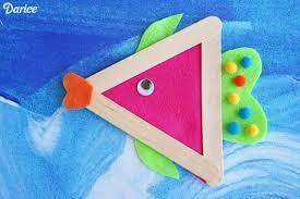 Craft Stick DIY Fish Darice 7