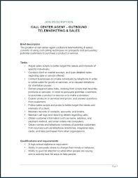 Sample Resume For Call Center Job Customer Service