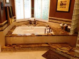 Advanced Bathtub Refinishing Austin by New Tub Face With Granite Tub Deck And Granite Profiled Edging