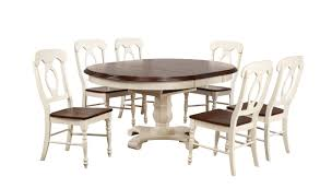 August Grove Kenya Butterfly Leaf 7 Piece Breakfast Nook Solid Wood Dining Set