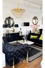 kronleuchter kristall new york modern zum wohnzimmer gold monaco l