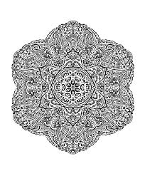Free Mandalas Page Mandala To Color Adult Very Difficult