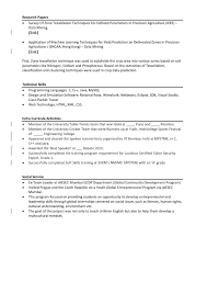 Resume Examples Activities Template Good Extracurricular High Activity