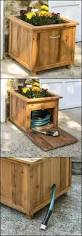 Decorative Hose Bib Extender by Hide Your Garden Hose In This Diy Hose Storage With Planter To