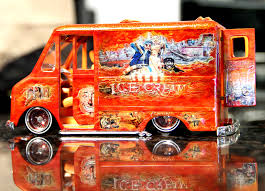 100 Lowrider Ice Cream Truck Model Of My Cream Truck Cartoons Rides Plastic Model Cars
