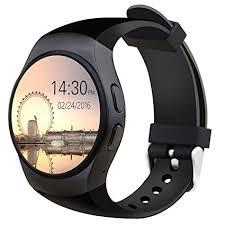 Amazon Bluetooth Smart Watch Phone KW18 Sim And TF Card Heart