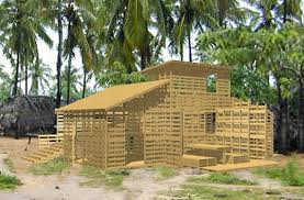 I Beams Pallet House Is Based On The Fact That Buildings Can Be Erected Quickly And Last For Years Each Of Their Experimental Homes Utilize About