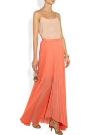 best 20 pleated chiffon maxi skirt ideas on pinterest yellow