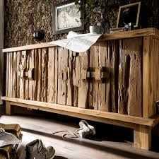 altholz sideboard stoneageteak massiv richtig rustikal 200 cm