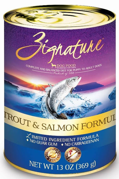 Zignature Trout & Salmon Formula Canned Dog Food