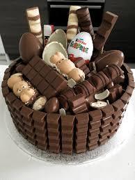 kinder bueno hippos kinderriegel torte basteln chocolate