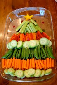 Rice Krispie Christmas Trees Recipe by Christmas Tree Vegetable Platter Appetizers Pinterest