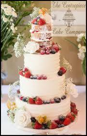 Fresh Fruit Wedding Cake Photo