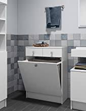 használat hám füst waschbeckenunterschrank mit wäschekippe