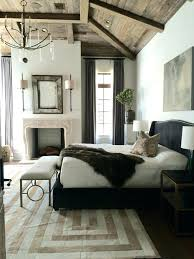 Modern Rustic Bedroom Ideas Furniture Best Design On Master Bed