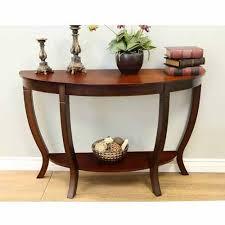 home craft lewis wood sofa table walmart com